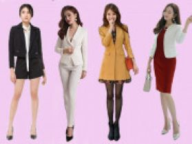 Những cách phối áo vest cho nữ công sở đẹp