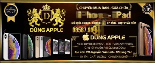 Cửa hàng điện thoại Dũng Apple