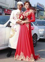 Top shop áo dài chú rể giá rẻ uy tín tại Tân Bình, TPHCM