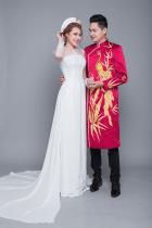 Top shop áo dài chú rể giá rẻ uy tín tại Thủ Đức, TPHCM