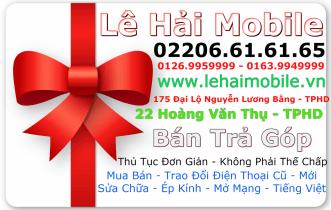 Cửa hàng điện thoại Lê Hải Mobile