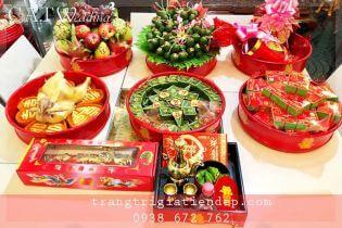 Top shop cho thuê mâm quả giá rẻ uy tín tại Bình Tân, TPHCM