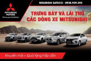 Mua xe Mitsubishi trả góp, ưu đãi giảm giá tại Mitsubishi Satsco