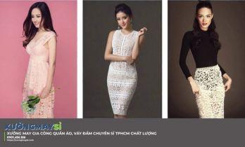 Top xưởng sỉ váy nữ giá rẻ tại TP.HCM