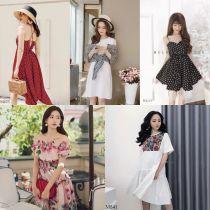 Top xưởng sỉ váy đầm nữ giá rẻ đẹp tại H.Thanh Trì, Hà Nội