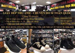 Top xưởng sỉ giày nam giá rẻ chất lượng tại H.Phú Xuyên, Hà Nội