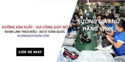 Top xưởng sỉ giày nữ giá rẻ chất lượng tại Quận Tân Phú, TP.HCM