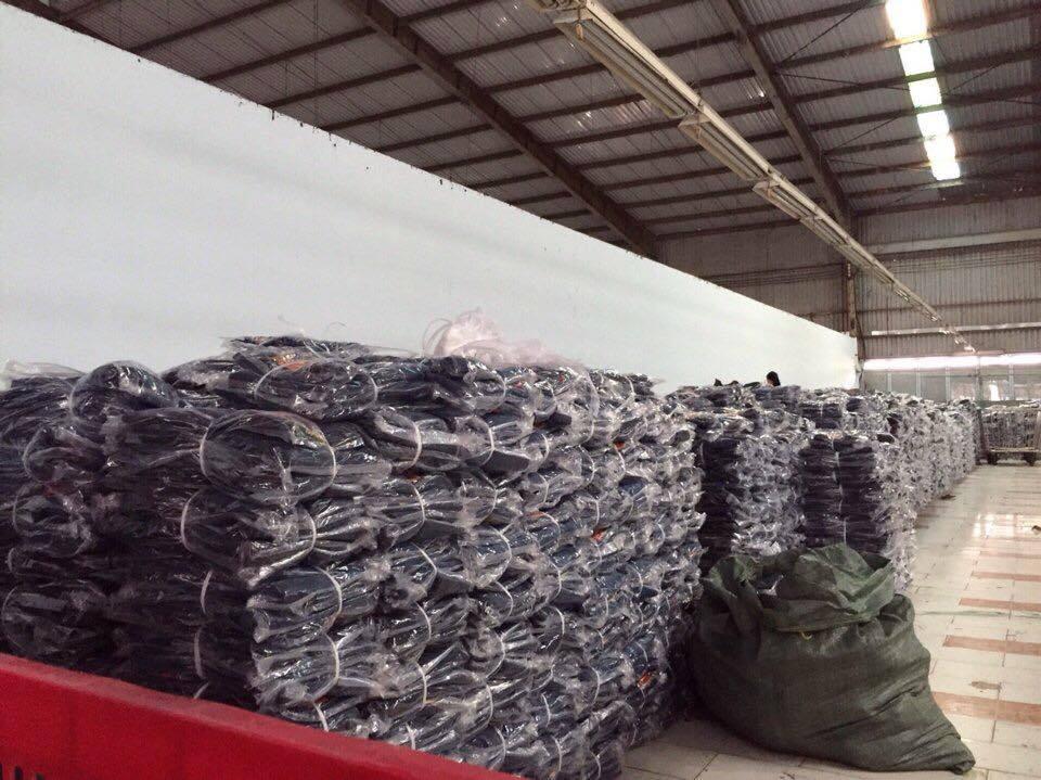 Xưởng may quần jean Tiến Mai