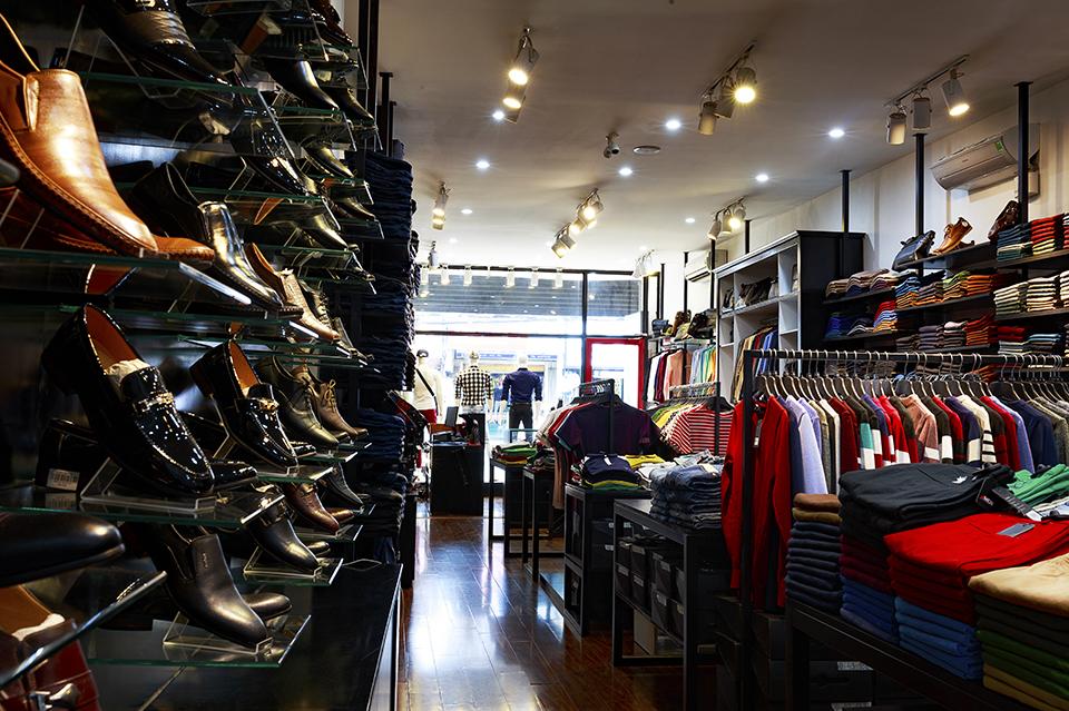 Cửa hàng thời trang 4MEN Lê Văn Sỹ