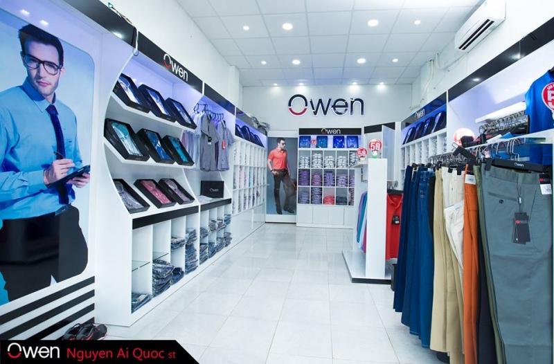 Cửa hàng thời trang nam Owen Biên Hòa - Đồng Nai
