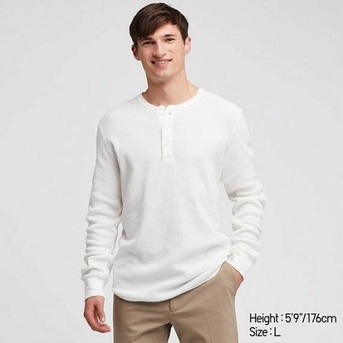 Top shop bán áo thun Henley nam tại quận Tân Phú