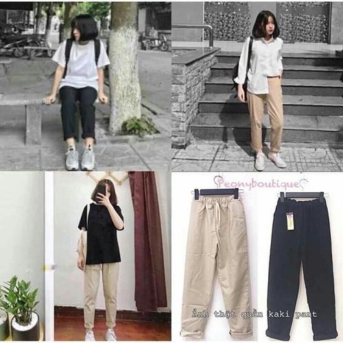Top shop bán quần kaki đẹp cho nữ trên đường Nguyễn Trãi