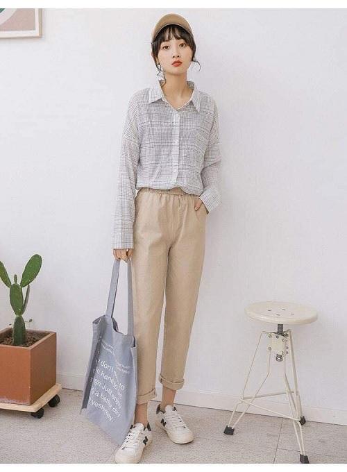 Top shop bán quần kaki cho nữ đẹp, trẻ trung trên đường Hai Bà Trưng