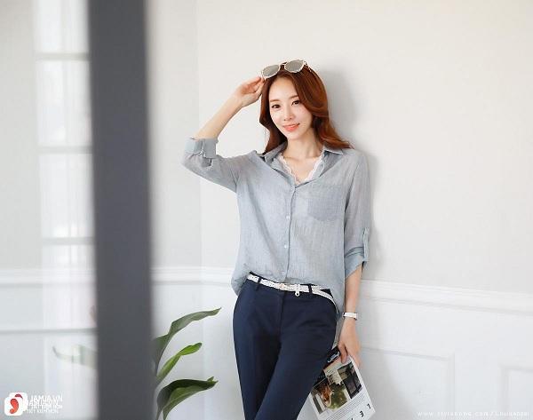 Top shop bán áo sơ mi cho nữ đẹp, trẻ trung tại Nam Định