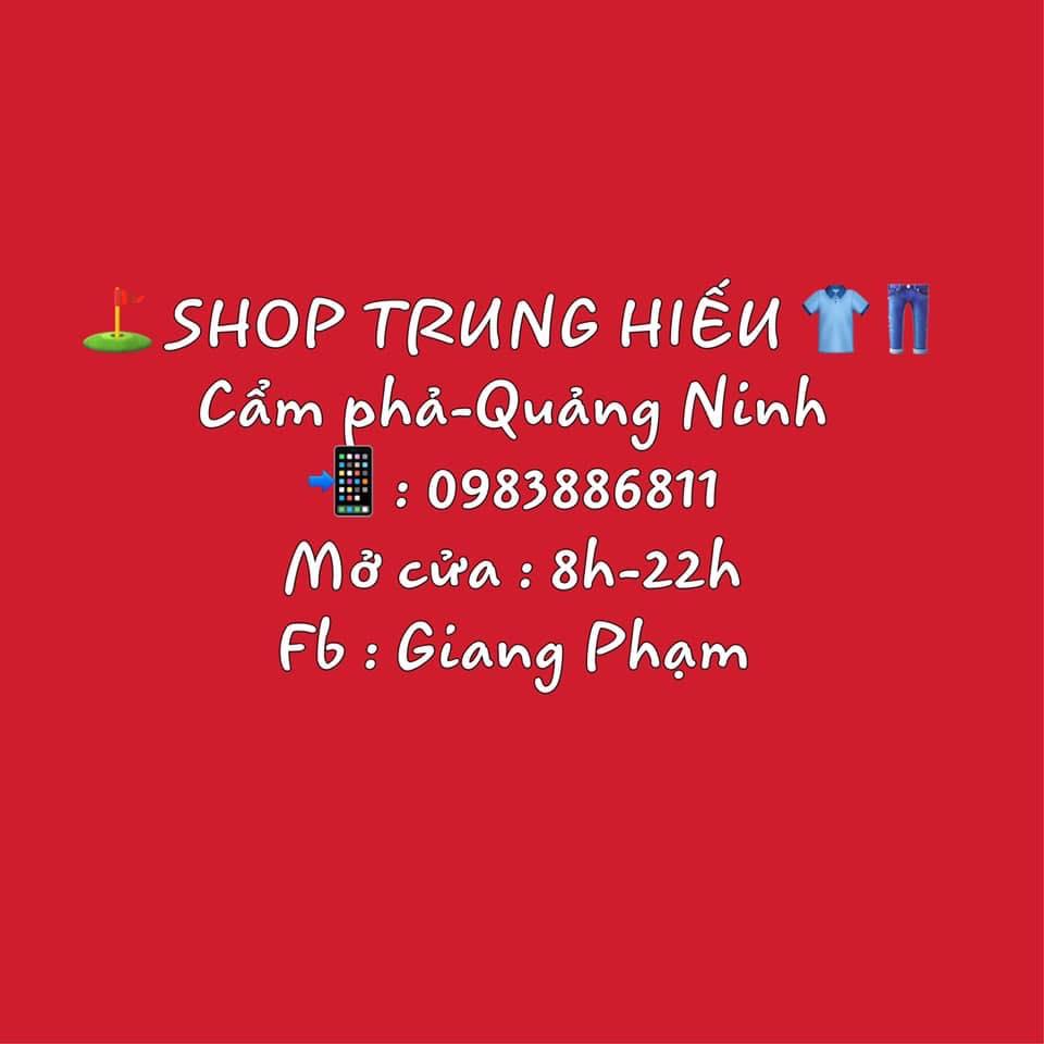 Thời trang nam Shop Trung Hiếu
