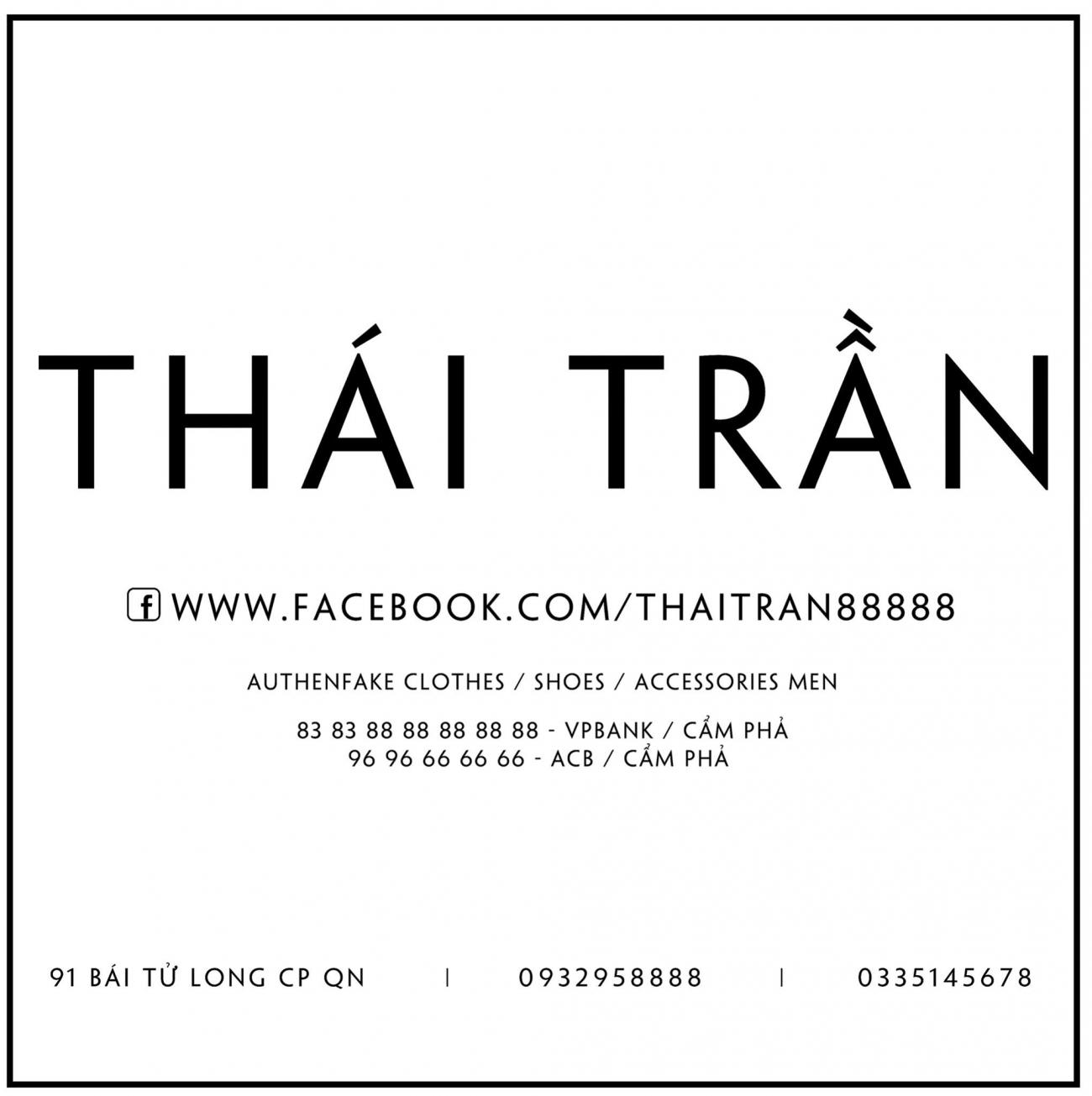 Thời trang nam Thái Trần Luxury Men's