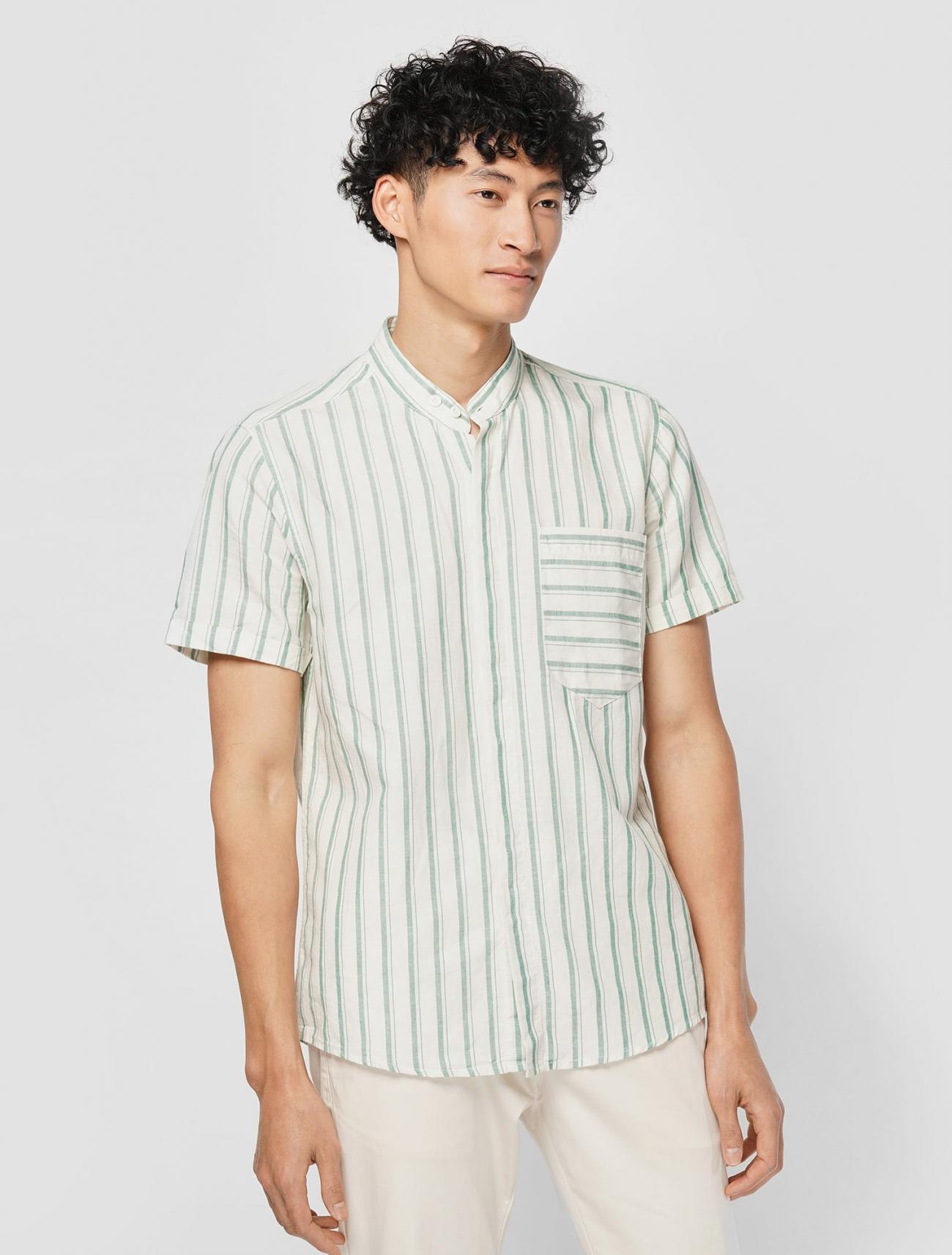 Top shop bán áo sơ mi cho nam đẹp trên phố Đặng Văn Ngữ - Hà Nội