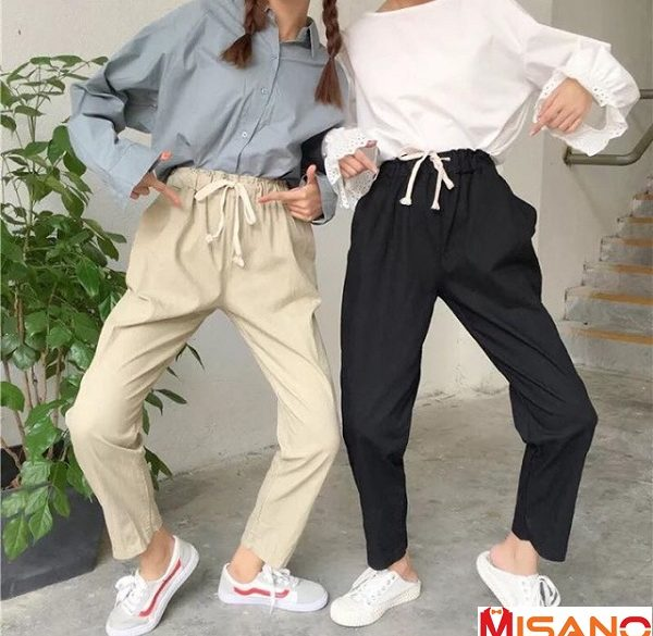 Top shop bán quần kaki cho nữ đẹp tại quận Cẩm Lệ - Đà Nẵng