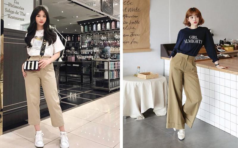 Top shop bán quần kaki nữ giá rẻ tại Quận 7, TP.HCM