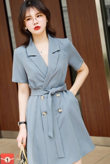 Top shop bán váy đầm vest giá rẻ cho nữ tại Quận 7, TP.HCM