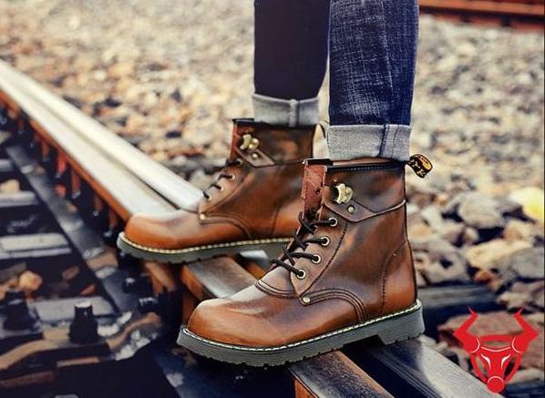 Top shop bán giày boot nam tại Thủ Đức, TpHCM