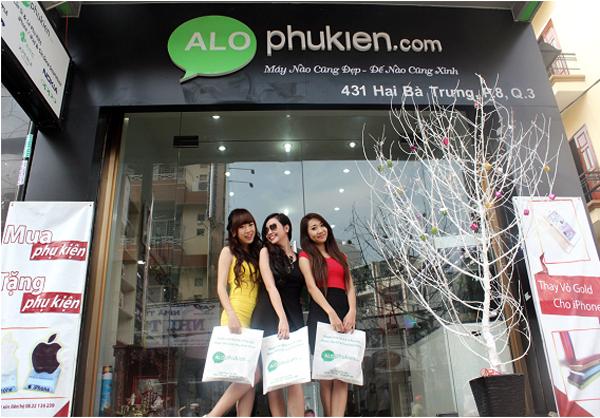 Cửa hàng phụ kiện điện thoại Alophukien
