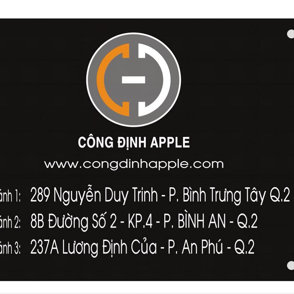 Cửa hàng sửa chữa điện thoại Công Định Apple