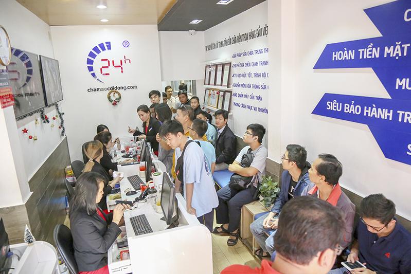 Top cửa hàng sửa chữa điện thoại tại TP.HCM