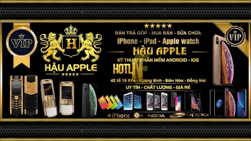 Cửa hàng điện thoại Hậu Apple