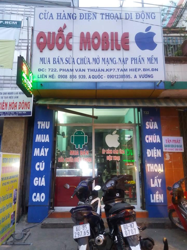 Cửa hàng mua bán, sửa chữa điện thoại Quốc Mobile
