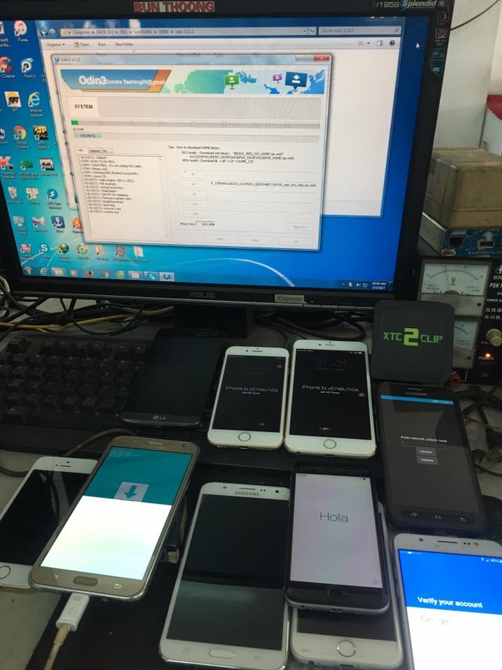 Cửa hàng sửa chữa điện thoại BunThoong Mobile