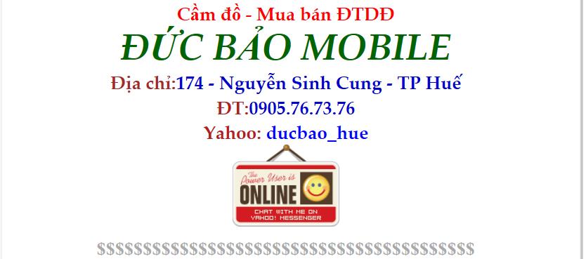 Cửa hàng sửa chữa điện thoại Đức Bảo Mobile