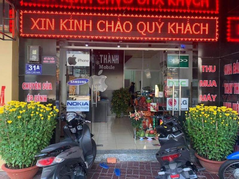 Cửa hàng sửa chữa điện thoại Minh Thành