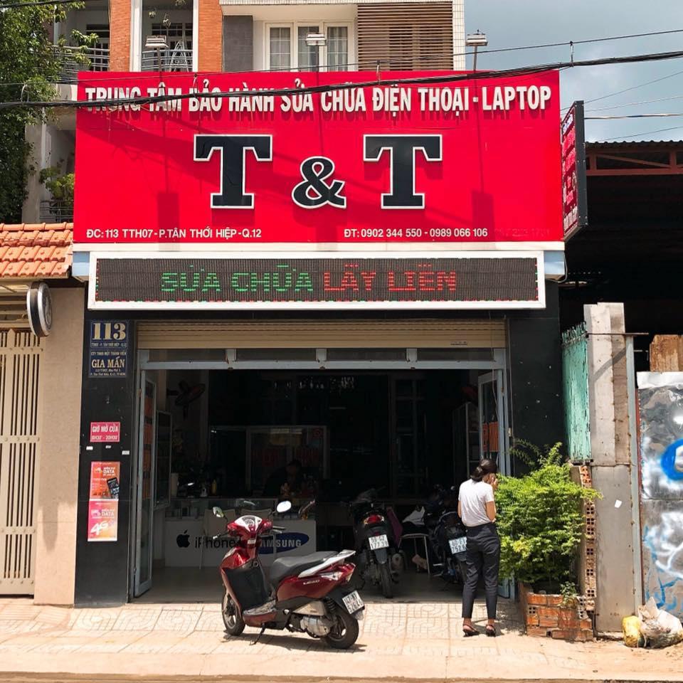 Cửa hàng sửa chữa điện thoại T&T