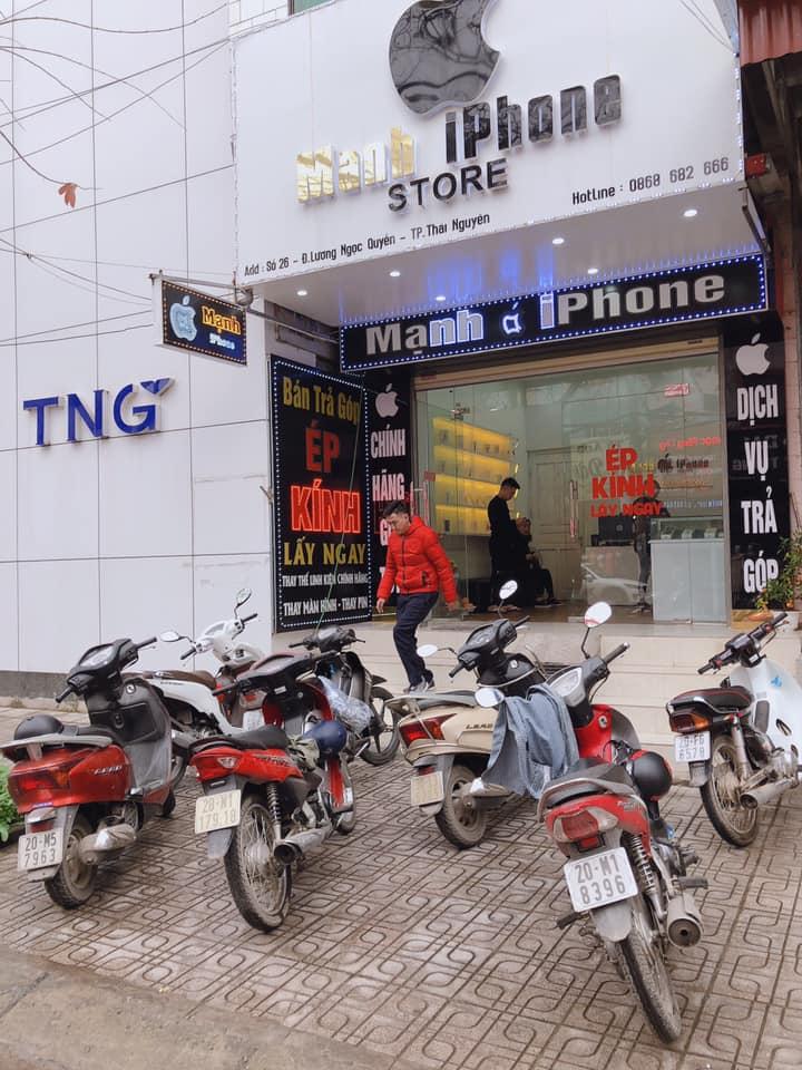 Top cửa hàng bán điện thoại uy tín tại TP.Thái Nguyên