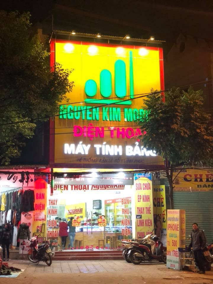Top cửa hàng bán điện thoại uy tín tại TP.Vĩnh Yên, Vĩnh Phúc