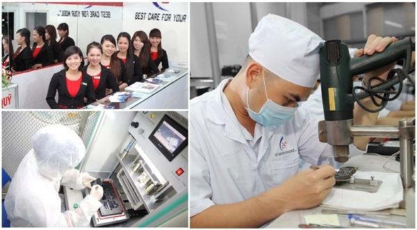 Top cửa hàng sửa chữa điện thoại tại TP.Thái Nguyên