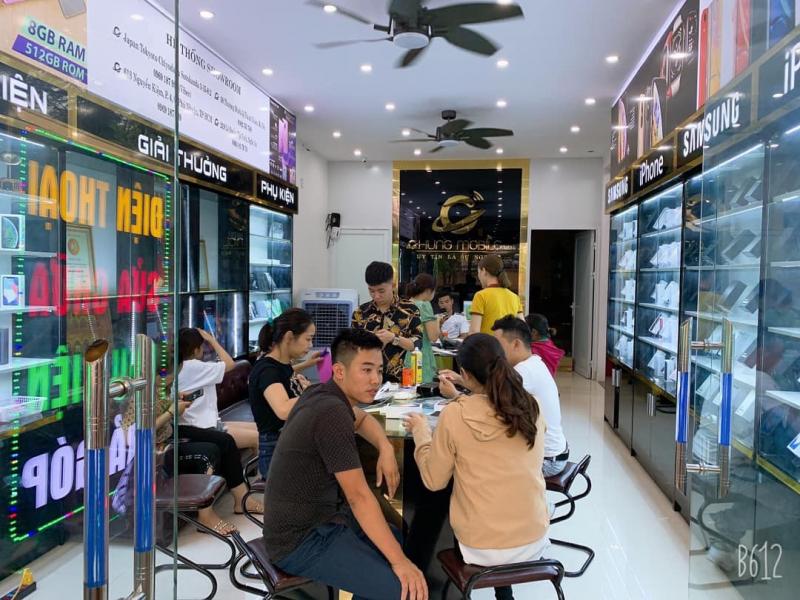 Top cửa hàng sửa chữa điện thoại tại TP.Vinh, Nghệ An