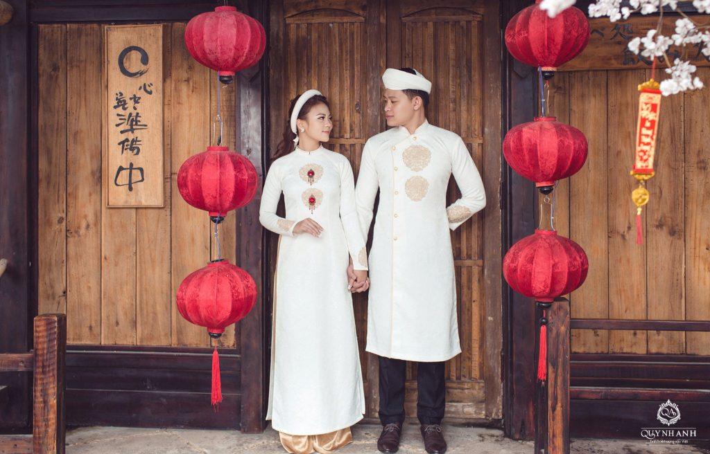 Top shop áo dài chú rể giá rẻ uy tín tại Bình Thạnh, TPHCM