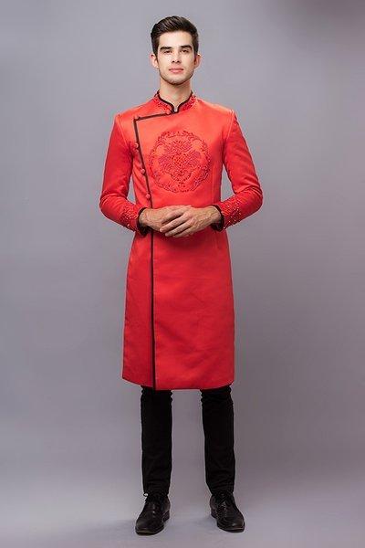 Top shop áo dài chú rể giá rẻ uy tín tại Gò Vấp, TPHCM