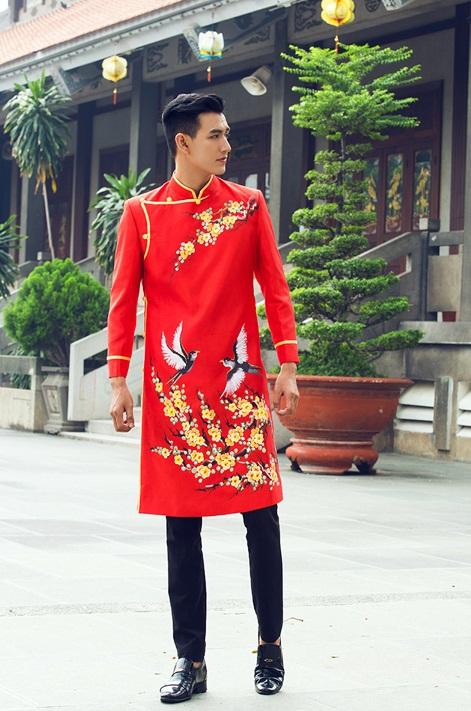 Top shop áo dài chú rể giá rẻ uy tín tại Tân Phú, TPHCM