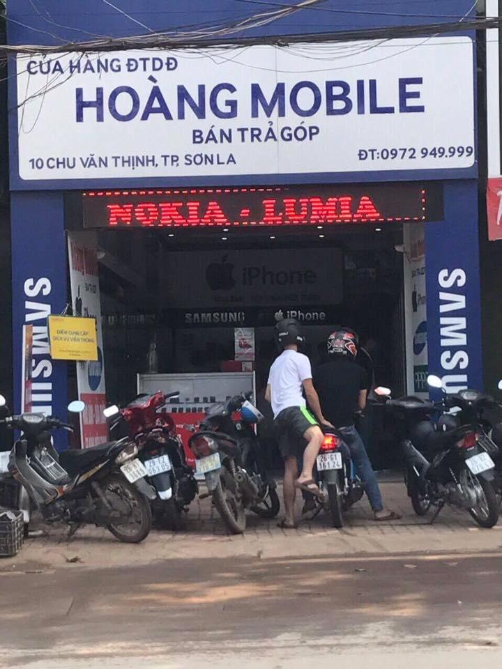 Cửa hàng điện thoại Hoàng Mobile