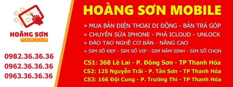 Cửa hàng điện thoại Hoàng Sơn Mobile