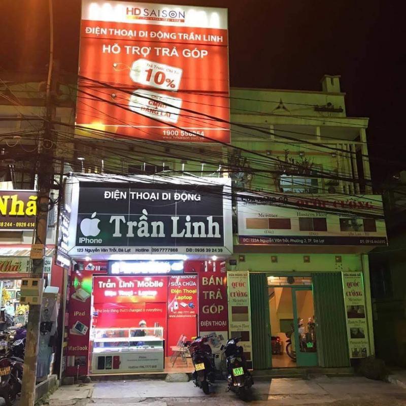 Cửa hàng điện thoại Trần Linh