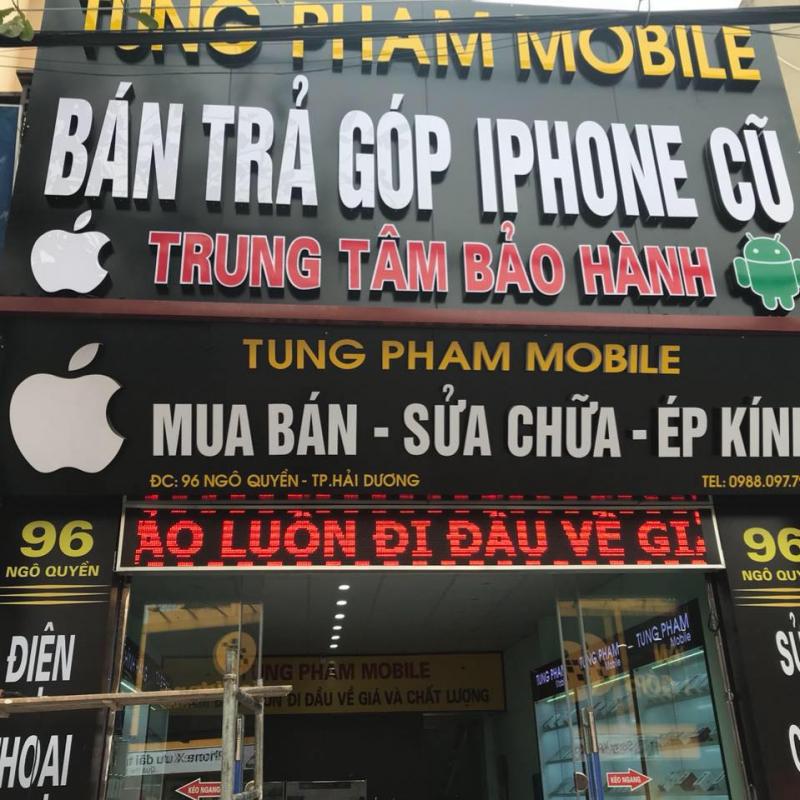 Cửa hàng điện thoại Tùng Phạm Mobile