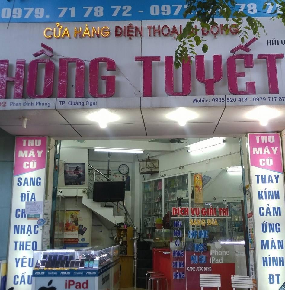 Top cửa hàng sửa chữa điện thoại tại Quảng Ngãi