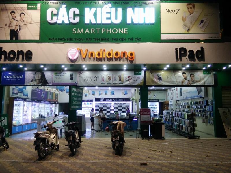 Top cửa hàng sửa chữa điện thoại tại Vĩnh Long
