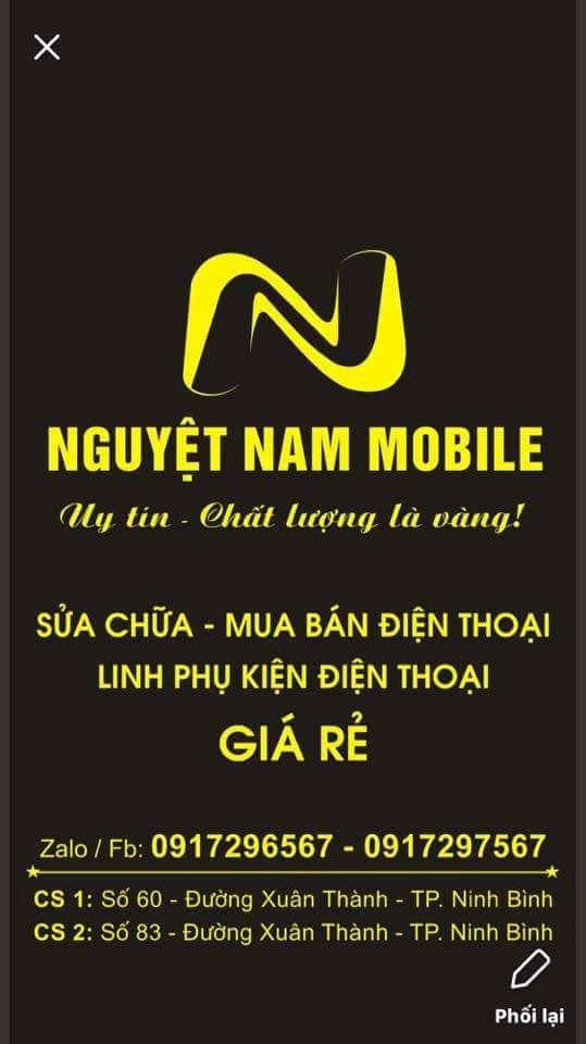 Cửa hàng điện thoại Nguyệt Nam Mobile