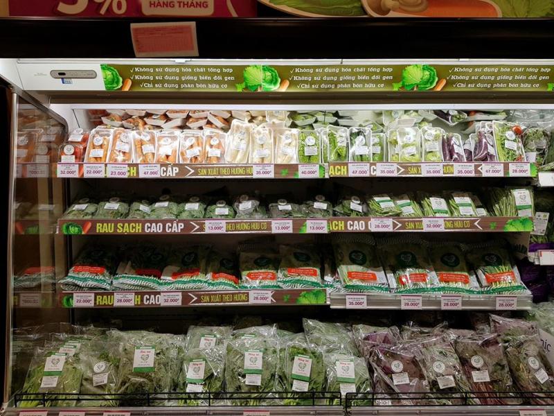 Cửa hàng thực phẩm Rau cười Việt Nhật