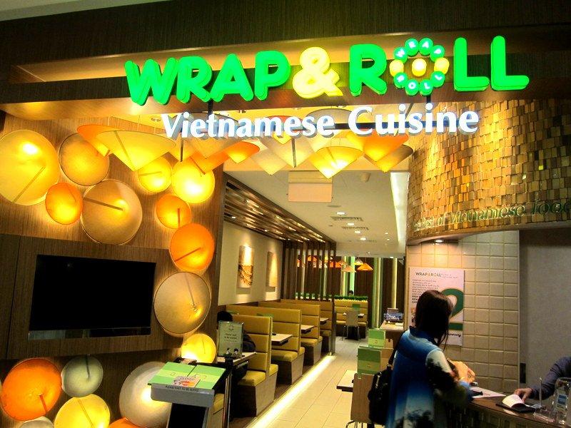 Nhà hàng Wrap & Roll
